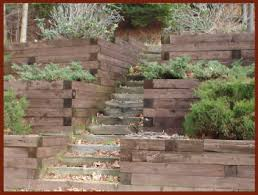 Retaining Wall Ideas For Sloped Backyard Hankle Lumber Landscaping Retaining Walls