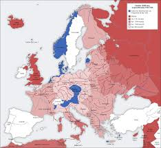 Map Of Europe 1941 by Axis Map U2013 Zweter Weltrieg Geneoffensive Counter Offensive 1941