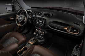 jeep renegade interior jeep to debut concept renegade cherokee and wrangler at beijing