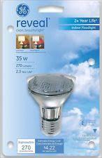 Par20 Halogen Flood Lights Ge Reveal Indoor Floodlight 35w 270 Lumens Par20 Halogen Bulb 1