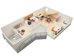 One Bedroom Apartment Plans Studio Loft Apartment Floor Plans Source Udr For Design Ideas