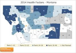 Map Of Montana State by Montana Rankings Data County Health Rankings U0026 Roadmaps