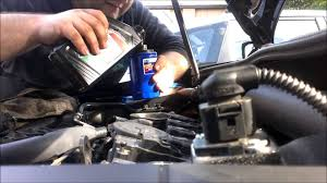 how to change engine oil on a 2009 volkswagen gti youtube