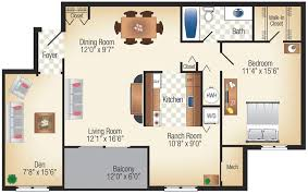 One Bedroom Apartments In Philadelphia Pa Incredible One Bedroom Apartment With Den On Bedroom Pertaining To