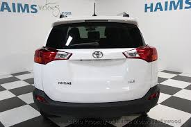used toyota 2014 2014 used toyota rav4 4wd 4dr xle at haims motors serving fort