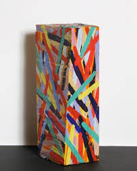 charles arnoldi painted wood sculpture stuff of