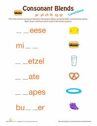 the 25 best consonant blends worksheets ideas on pinterest