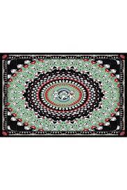 Grateful Dead Curtains Dead Black Bears Tapestry 60x90