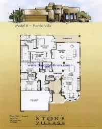 pueblo style house plans pueblo style floor plans pueblo b floor plan