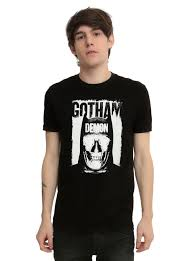 spirit halloween batman shirt dc comics batman v superman dawn of justice gotham demon t shirt