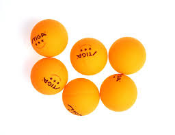 amazon com stiga 3 star table tennis balls 6 pack sports
