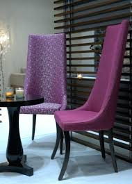 Purple Dining Chairs Ikea Tall Upholstered Dining Chairs High Back Black End Gunfodder Com