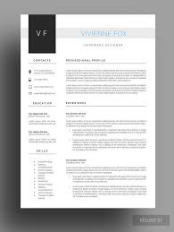 Free Cover Letter Templates For Resumes Winning Resume Template Free Cover Letter Resume Design