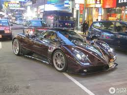 pagani dealership pagani zonda 760 fantasma spotted in hong kong