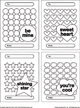 printable valentine u0027s day card kids can color familyeducation
