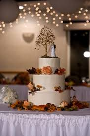 fall wedding cake toppers autumn wedding cake when we talked to our baker we went with a