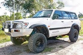 nissan suv white nissan patrol gu wagon white 112013 superior customer vehicles