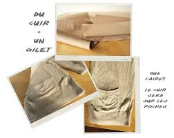 diy gilet sans manches poches cuir the yellow balconey