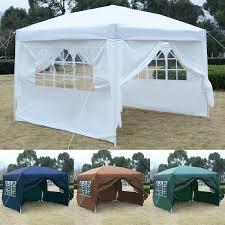 Canopy Tent Wedding by Costway 10 U0027x10 U0027 Ez Pop Up Tent Gazebo Wedding Party Canopy Shelter