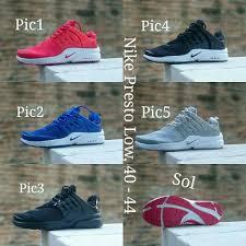 Sepatu Nike Elevenia sepatu nike presto low new coll elevenia