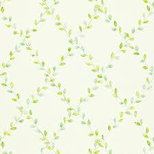 sandersons spring trellis wallpaper green 212438