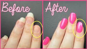 fix a broken nail fast youtube