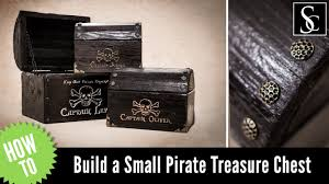 how to make a pirate chest youtube