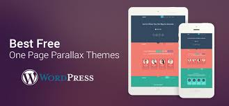 best free 35 best free one page parallax themes 2018