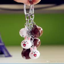 metal rabbit ring holder images Online cheap happy lovely key chain rabbit key holder lovers key jpg