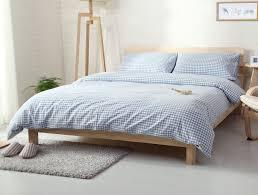 Single Duvet And Pillow Set 100 Cotton Nordic Style Duvet Covers Set Luxury Bedding Set