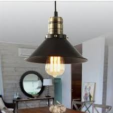 Retro Pendant Lights Indoor Retro Pendant Light Industrial Loft Vintage Black Metal