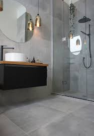 Main Bathroom Ideas by Cat U0026 Jeremy U0027s Main Bathroom They Used A Large Format Tile Called