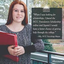 hcc foundation scholarship hagerstown community college