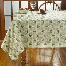 Patio Party Vinyl Tablecloth by Prism Print Heavyweight Vinyl Tablecloth With Soft Flannel Backing