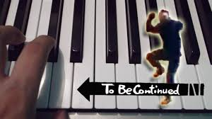 Piano Meme - to be continued meme piano tutorial notas musicales youtube