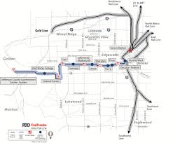Valley Metro Light Rail Map by Rtd Facts And Figures Fastracks West Rail Line