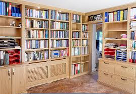 Home Library Design Uk Fitted Home Study Furniture