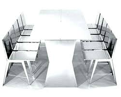 stainless steel table and chairs stainless steel dining table set sumr info