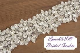 Wedding Sashes Rhinestone Bridal Sash Rhinestone And Crystal Wedding Belt