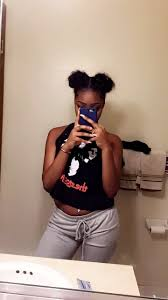 18 best zonnique pullins images on pinterest omg girlz dope natural hairstyle medium hair curly 2 puffs sleek edges snapchat vionnaa