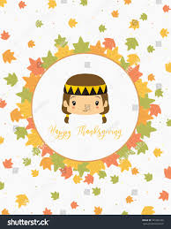 happy thanksgiving card design american stock vector