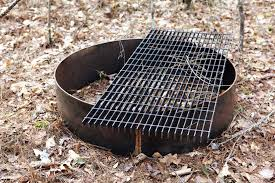 Fire Pit Ring With Grill by It U0027s The Pits Bower Power