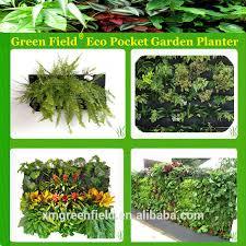 Wall Garden Planter by Vertical Garden Wall Planter Pocket Vertical Hanging Garden