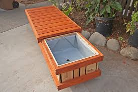 Deck Planters And Benches - planter box bench treenovation