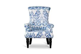 White Armchairs Best Of Blue And White Accent Chair With Drew Stripe Club Chair