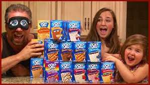 halloween pop tarts pop tart challenge by girls and dad kids family fun youtube