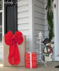 holiday porch decorations