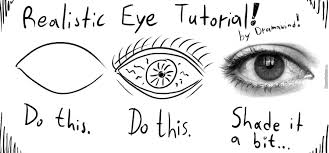 How To Draw Meme - how to draw a perfectly realistic eye in three steps by recyclebin