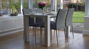 Extending Dining Table And 8 Chairs Dining Rooms Fascinating White High Gloss Dining Table And 8