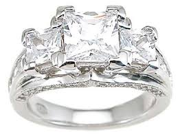 engagement rings that look real cz engagement rings high quality unique look real laraso co